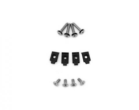 Corvette Headlight Bezel Mount Screw Kit, 1968-1982
