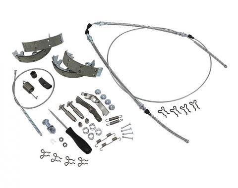 Corvette Parking Brake Kit, Master, With Original Equipment Shoes, 1967-1982