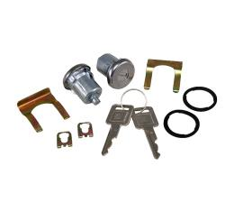 Corvette Door Locks, With Keys, 1969-1977 Early