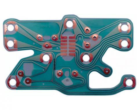 Corvette Console Gauge Printed Circuit, 1977-1982