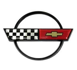 Corvette Gas Door Emblem, 1984-1990