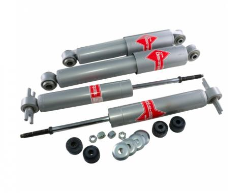 Corvette KYB Shock Absorbers, Gas, Front & Rear, 1963-1982