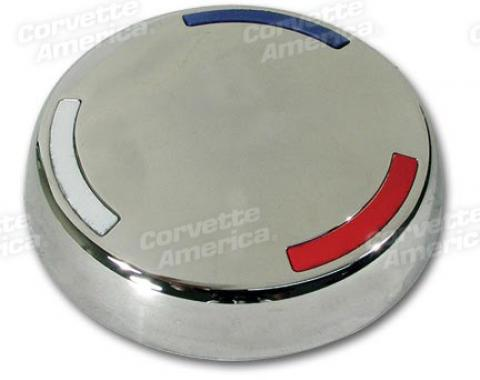 Corvette Knock-Off Wheel Center Cap, 1963-1966