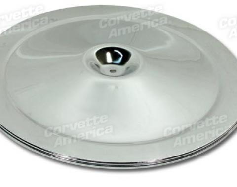 Corvette Air Cleaner Lid, Chrome, 1966-1972