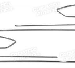 Corvette Door Panel Trim, 12 Piece Set, 1958-1961
