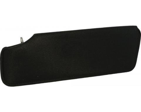 Corvette Sunvisor, Replacement Right, without Mirror, 1984-1996