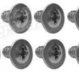 Corvette Trunk Liner Screws, 10 Piece Set, 1960-1962
