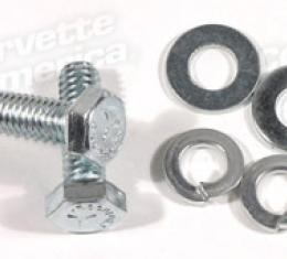 Corvette Steering Column Mount Bracket Bolts, 6 Piece Set, 1960-1962