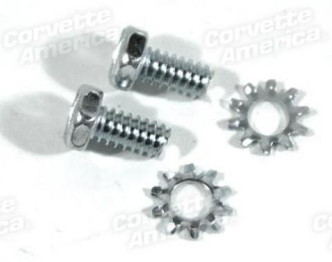 Corvette Backup Light Switch Mount Screws, 1964-1978