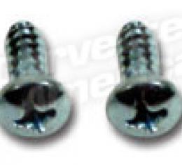 Corvette Vent Cable-Grille Screws, 1963-1967