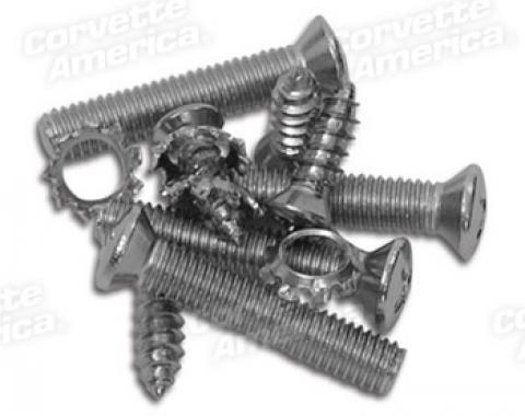 Corvette Windshield Frame Screw Set, 1956-1962