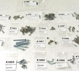 Corvette Interior Screw Kit, 1958-1960