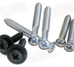 Corvette Rear Window Molding Screws, Coupe 7 Piece, 1973-1977
