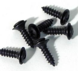Corvette Door Panel Storage Tray Screws, 6 Piece, 1984-1993