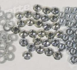 Corvette Grille Shell Nut & Washer Kit, 84 Piece, 1958-1962