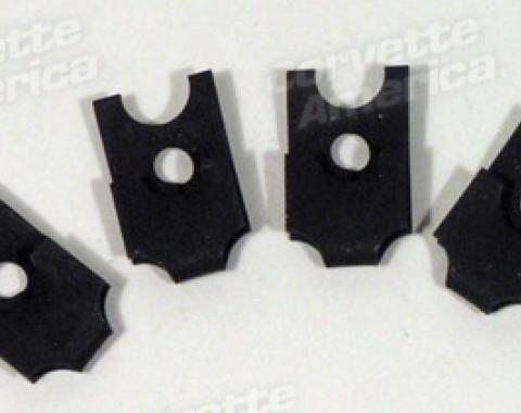 Corvette Headlight Housing J-Nuts, 4 Piece Set, 1963-1967