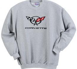 Sweatshirt, Gray C5 Crew