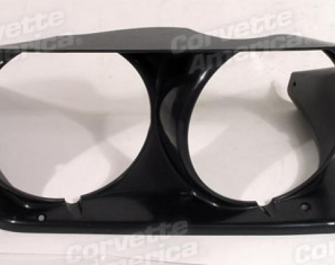 Corvette Headlight Bezel, Left, 1968-1982