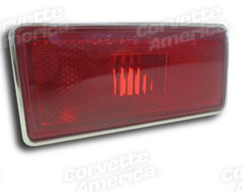 Corvette Side Marker Light Assembly, Rear Left, 1974-1982