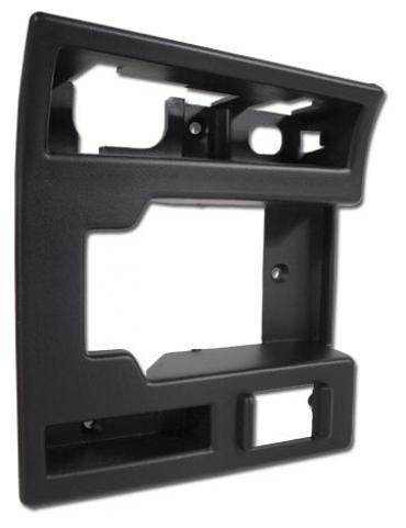 Corvette Bezel, Door Lock & Opening, Black Right, 1994-1996
