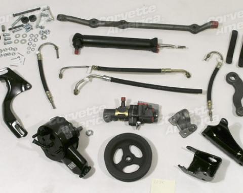 Corvette Power Steering Conversion Kit, Big Block, 1970-1974