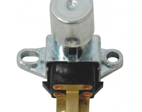 AMD Headlamp Dimmer Switch, Floor Mount, 12 Volt, Most 58-82 GM Models X468-3567