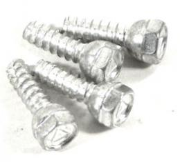 Corvette Ralley Hubcap Center Screw Set, 4 Piece, 1967-1982