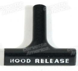 Corvette Hood Release Cable Handle, 1963-1966