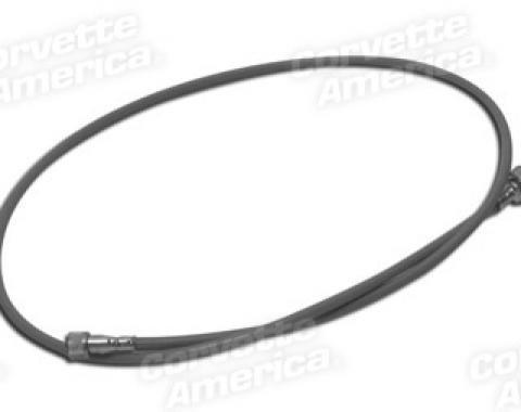 Corvette Speedo Cable, Grey Case, 1963-1964