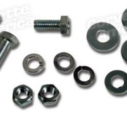 Corvette Rad Top Shroud Brckt Bolt Kit, 396, 1965