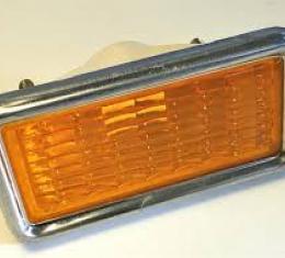 Corvette Front Marker Light, Amber, NOS 1969