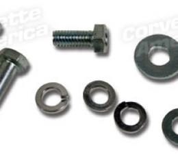 Corvette Rad Top Shroud Brckt Bolt/Wshr Set, 1966-1967