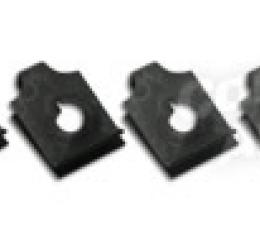 Corvette Body Mount #3 Access Plate U-Nuts, 8 Piece, 1963-1982