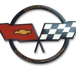 Corvette Emblem, Nose Collector Edition, 1982
