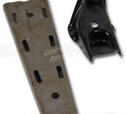 Corvette Frame Lower A-Arm Support, with Gusset 2 Required, 1963-1982