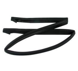 Corvette Weatherstrip, Hardtop Header Outer, USA, 1963-1967