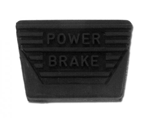 Corvette Pedal Pad, Power Brake Manual, 1963-1967