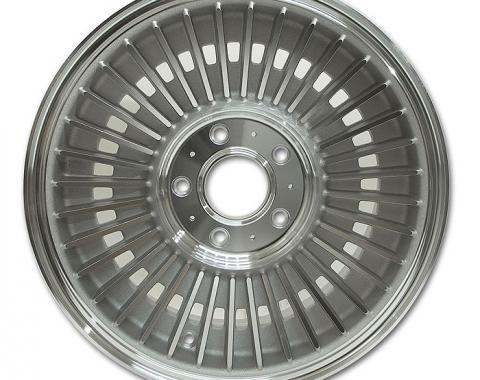 Corvette Direct Bolt Knock-Off Wheel, Light Face Replica, 1963-1964