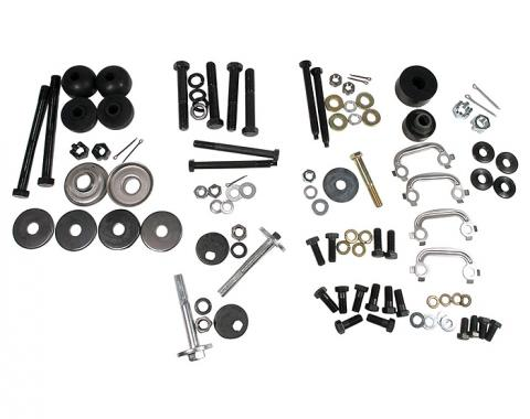 Corvette Rear Suspension Hardware Kit, 1965-1968