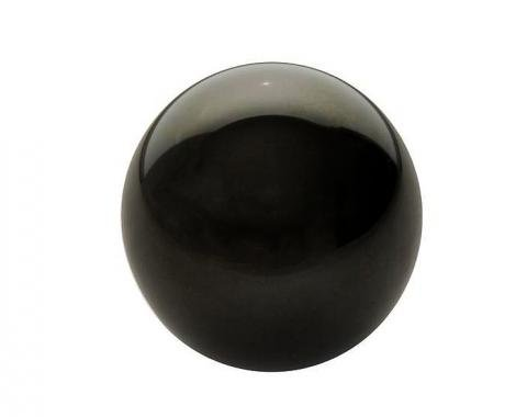 Corvette Shift Knob, Manual Black, 1968-1982