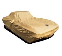 Corvette Car Cover, Premium Flannel, Tan, 1963-1967