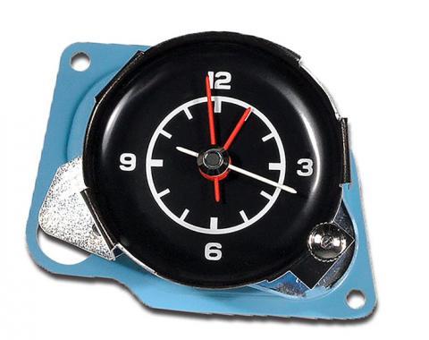 Corvette Clock, Electric Reproduction, 1975-1976