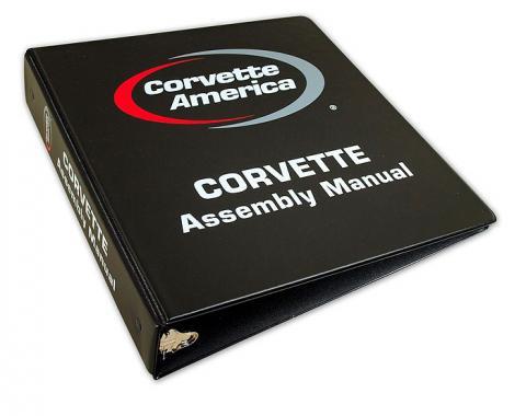 Corvette Assembly Manual Binder, 1956-1982