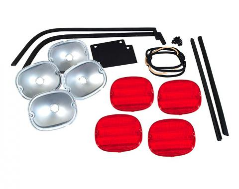 Corvette Rear Bumper Light Kit, ZR1 Style, 1984-1990