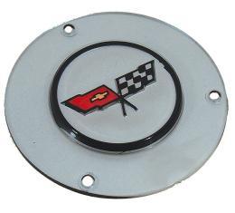 Corvette Horn Button Emblem, 1982
