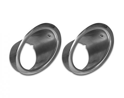 Corvette Exhaust Bezels, 1964-1965