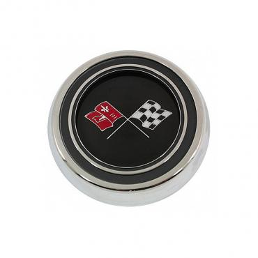 Trim Parts 67 Corvette Horn Button Assembly, Each 5064