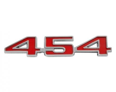 Trim Parts 73-74 Corvette Hood Emblem, 454, Pair 5970