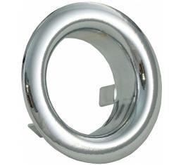 Corvette Storage Cover Chrome Ring, 1963-1967