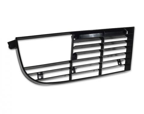 Corvette Grille, Right, 1975-1979